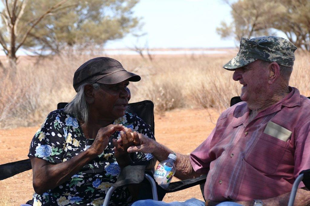 Rita Cutter and Keith Payne VC AM