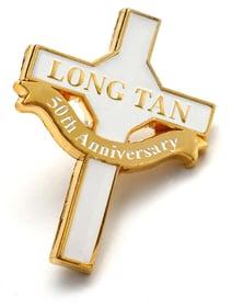 50th Anniversary Long Tan Cross Lapel Pin